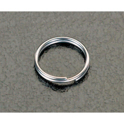 [Stainless Steel] Double Ring (10 pcs) EA638DP-8