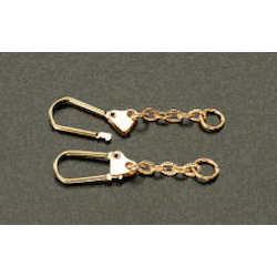 Key Ring with Chain (2 pcs) EA638ED-5