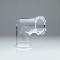 EVAC Glass™ Elbow NW 10-63