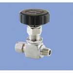 Stainless Steel, 16.2 MPa, Powerful Lock + Screw-In Glove Type, Needle Stop Valve