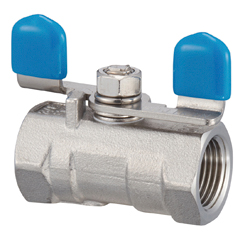 Stainless Steel, 3.92 MPa, Butterfly Handle Type, Reduced Bore Type, Ball Valve