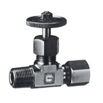 GT4V Type Miniature Valve for Copper Tube COMPRESSION