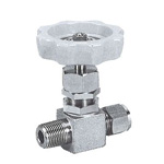 for Stainless Steel, SUS316  VHP Needle Stop Valve, Half Type