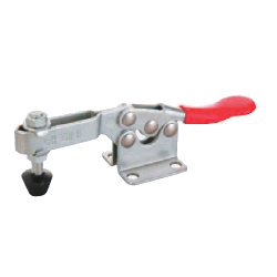 U-Shaped Arm Toggle Clamps, Horizontal, with Flanged Base, GH-201-B/GH-201-BSS