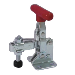 Toggle Clamp - Vertical-Handled - U-Shaped Arm (Flange Base) GH-101-AT