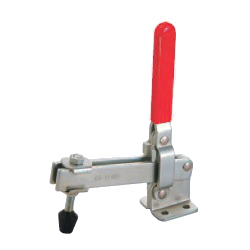 Toggle Clamp - Vertical Handle - Open Bar (Flanged Base) GH-12305