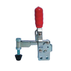 Toggle Clamp - Vertical Handle - Solid Arm (Straight Base) GH-12065