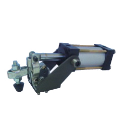 U-Shaped Arm Pneumatic Clamp with Flanged Base, GH-12050-UA