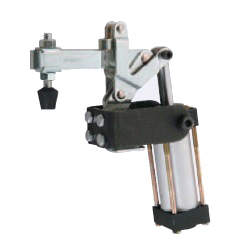 U-Shaped Arm Pneumatic Clamp with Flanged Base, GH-20820-A
