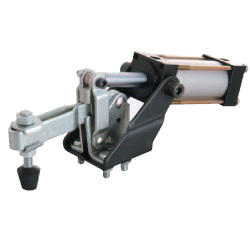 U-Shaped Arm Pneumatic Clamp with Flanged Base, GH-12130-A