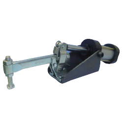 Solid Arm Pneumatic Clamp with Flanged Base, GH-10249-A