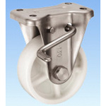 Stainless Steel Caster Holder (with Rotation Stopper) KABZ Type Size 130 mm