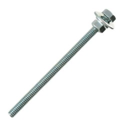 Bright Chromate Hex Screw With Nut