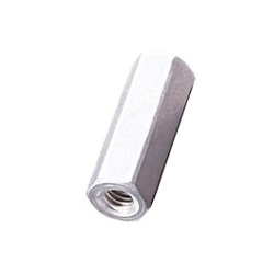 Aluminum Spacer (Hexagonal/Pickled) / ASL-E