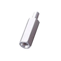 Aluminum Spacer (Hexagonal/Pickled) / BSL-E
