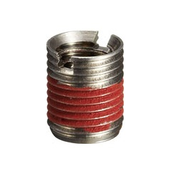 Stainless Steel/Aluminum Insert Nut Threaded Type (Loosening Prevention/Slotted) / IRU-SW