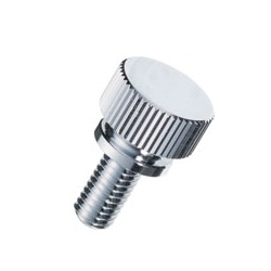 Brass Knurled Knob (Flanged) / NB-CC