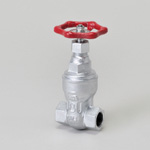Malleable Valve, General-Purpose 10K Type, Gate Valve, Screw-in