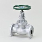 Malleable Valve, 20K Type, Globe Valve, Flanged, PTFE Disk Equipped, External Thread B・B Type