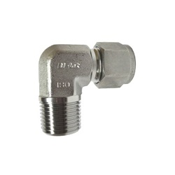 Double Ferrule Type Tube Fitting Male Elbow DLN