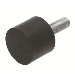 Vibration-Proof Rubber (Male Screw on One Side)