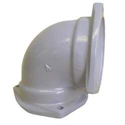 Flexible Joint for Steel Drainage Pipe, 90° Elbow (90°L)