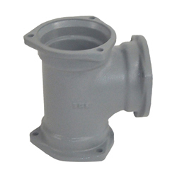 Flexible Joint for Steel Drainage Pipe, 90° Y (ST)