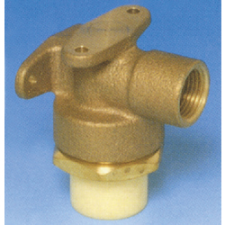 JFE Polybutene Tube, H-Type Fitting (Heat Fusion Type) L-Shaped Valve Socket (Top Flange Plate)