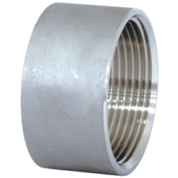 Stainless Steel Screw-in Tube Fitting, Straight Half Socket
