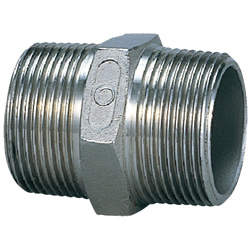 Stainless Steel Screw-In Pipe Fitting, Nipple