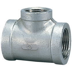 Stainless Steel Screw-In Pipe Fitting, Reducing Tee