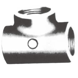 Screw-In PL Fitting, Tee