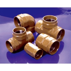 Fire Extinguishing Piping Screw-in Outer Surface Anti-Corrosive Fitting, K-PLV Fitting, Reducing Elbow