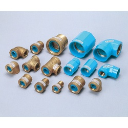 Pipe-End Anticorrosion Fitting for Water Supply Dual-Use Type, Core Fitting, C Core, Tee