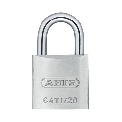 Titalium Padlock with 3 Keys