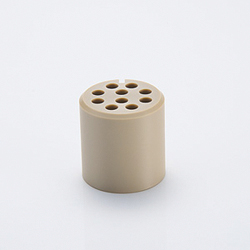 Multi-pin connection part, MS vacuum side, PEEK® insulation insert