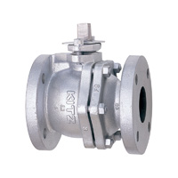 Cast Iron General Purpose Class 125 Ball Valve Flange