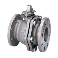 Stainless Steel General-Purpose 10K Ball Valve Flange