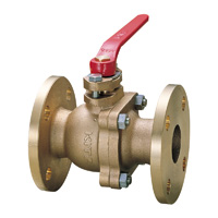 Cast/Stainless Steel 10K Ball Valve Flange
