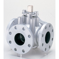 Ductile Iron General Purpose 10K Ball Valve (Three Way) Flange