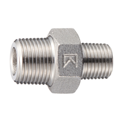 Stainless Steel Different Diameters Hexagon Nipple Screw Fitting