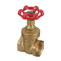 Brass General-Purpose 125 Threaded Gate Valve