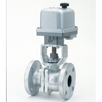 Cast Iron 10K Ball Valve with Electric Actuator