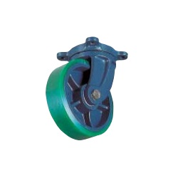 Molded Caster (Urethane Wheels, Wide Type), Independent Type