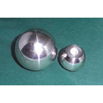 Stainless Gripping Ball, Mirror Finish, SUSBA