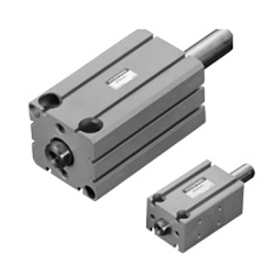 Basic cylinder double rod cylinder