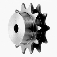 Sprocket for acceleration and carrier chain