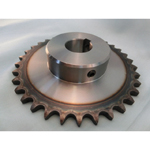 Standard Sprocket, 80B Form, Semi F Series, Shaft Holes Already Established (New JIS Key)