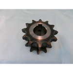 40SD single/double sprocket semi F series with machined shaft holes (New JIS key)