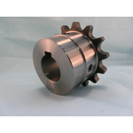 Chain Coupling MB Semi-F Series Shaft Hole Machined (New JIS Key) Body Side